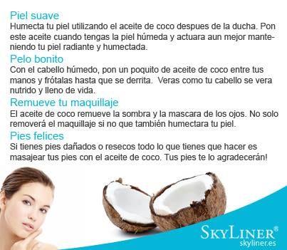 Piel suave, pelo bonito, pies felices, propiedades del coco, remedios caseros naturales para la belleza