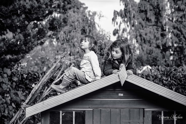 On the roof #childhood #children #photography