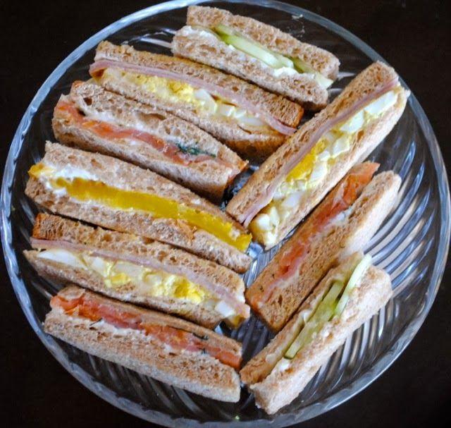 Невыразимая легкость кулинарного бытия...: Английские сэндвичи к чаю (четыре варианта)