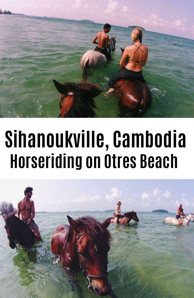 Horseriding on Otres Beach – Sihanoukville, Cambodia