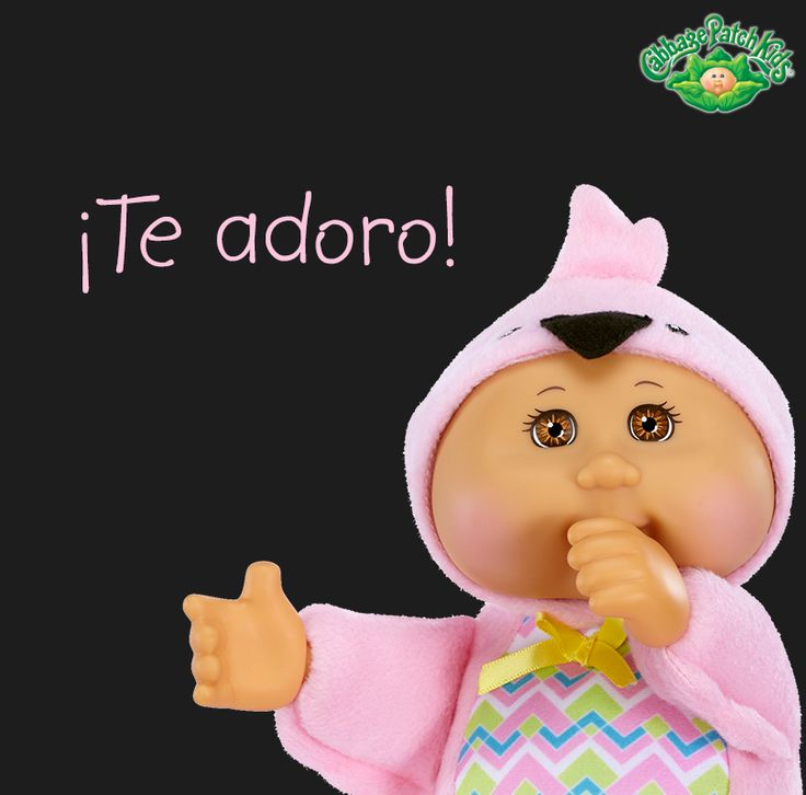 ¡Te adoro! #cabbagepatch #cabbagepatchkids #sketchers #muñeca #niñas #abrazo #palaciodehierro #liverpool #comercialmexicana #walmart #soriana #sears #chedraui #coppel #juguetron #HEB #newborns