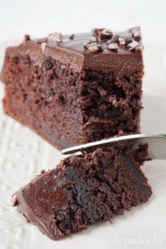 Chocolate coke cake (german recipe)