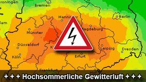 Örtlich Blitzschlag- und Überflutungsgefahr Heute 19.9. nochmal Unwettergefahr und relativ warm, nächste Woche Wind und #Wetter aus Nord...