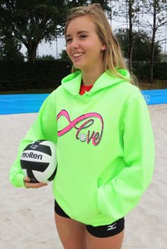 Make it two flags instead of a volleyball and that's our next guard hoodies.