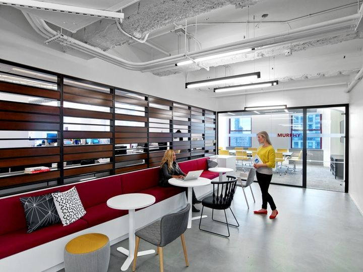 LinkedIn Offices By M Moser Associates New York City Retail Design Blog