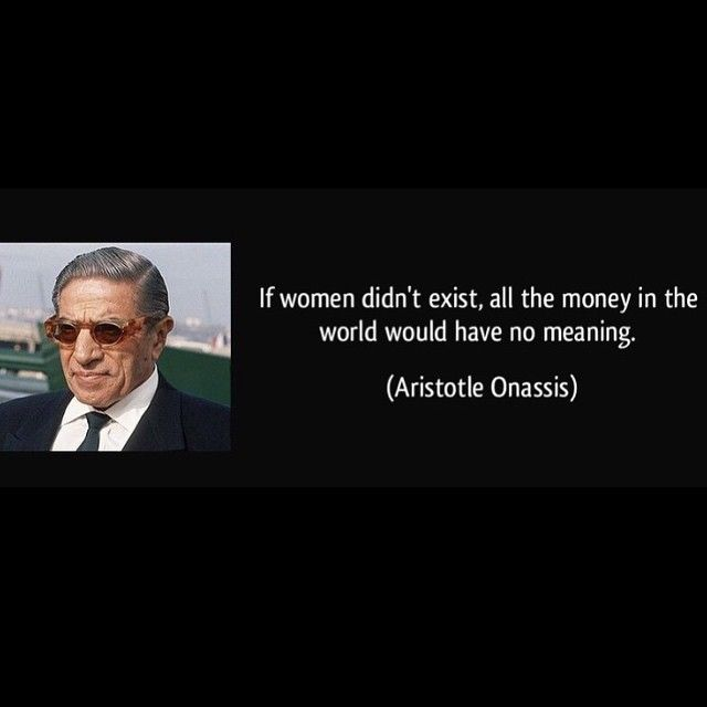 Rosina Perfumery Glyfada  ‪#‎InternationalWomensDay‬ ‪#‎IWD‬ ‪#‎Onassis‬ ‪#‎quote‬ ‪#‎rosinaperfumery‬ ® If Women didn't exist, all the money in the world would have no meaning.