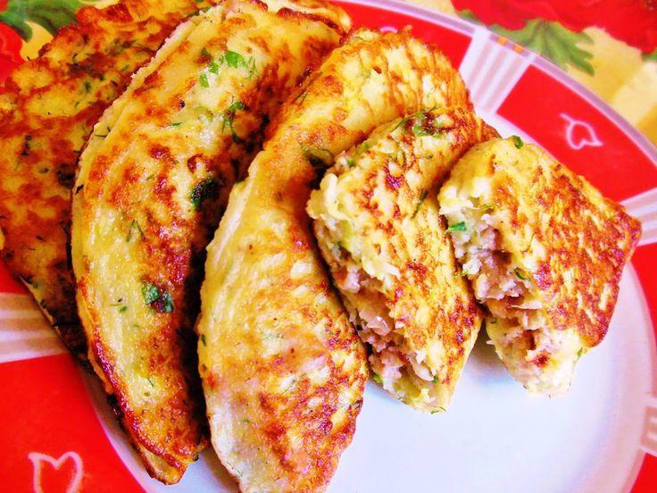 Чебуреки, Сочный и Нежный Чебурек из Кабачка, Рецепты с Кабачками