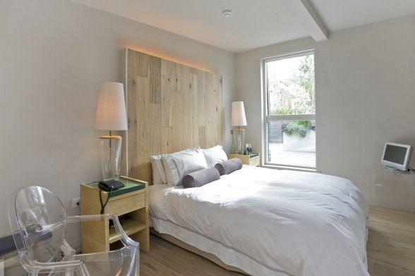Hacer un cabecero de cama con palets dys con pales y - Cabecero cama casero ...