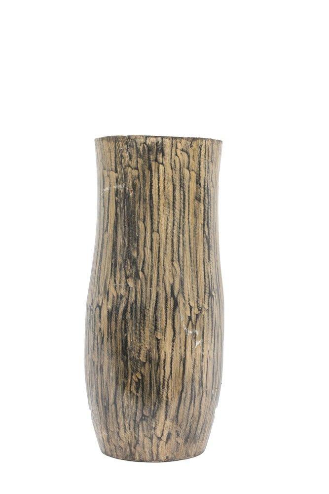 Komodo Antique Tan Flower Vase (OPAL 07)