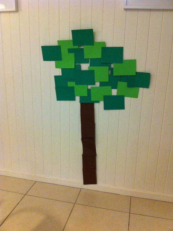 Minecraft decoration paper tree boys party pinterest for Minecraft dekoration
