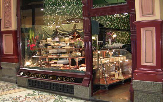 Hopetoun Tea Rooms - in the Block Arcade, Melbourne