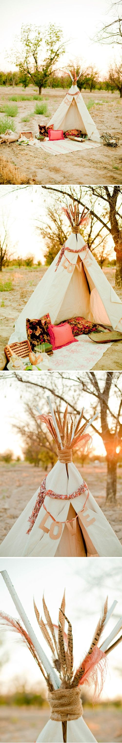 summer to do: spend the night in an awesome teepee with my favorite person.