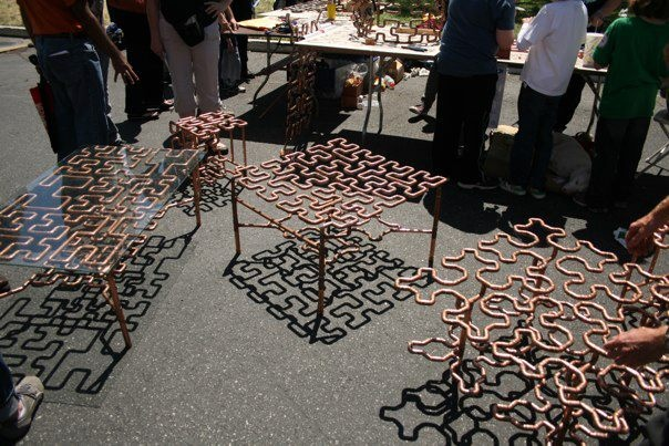 Cool Idea For A Welding Project Maker Faire Pinterest