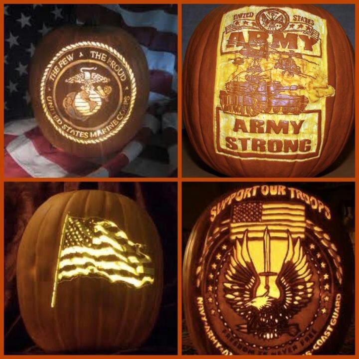military pumpkin