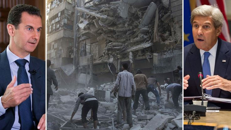 John Kerry i hemlig inspelning Har förlorat debatten om militärt våld mot den ... - Sveriges Radio