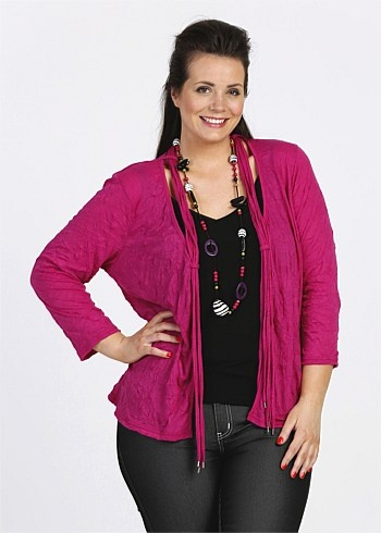 #TS14+ Sunset Crushed Cardy $99.95  #plussize #curvy