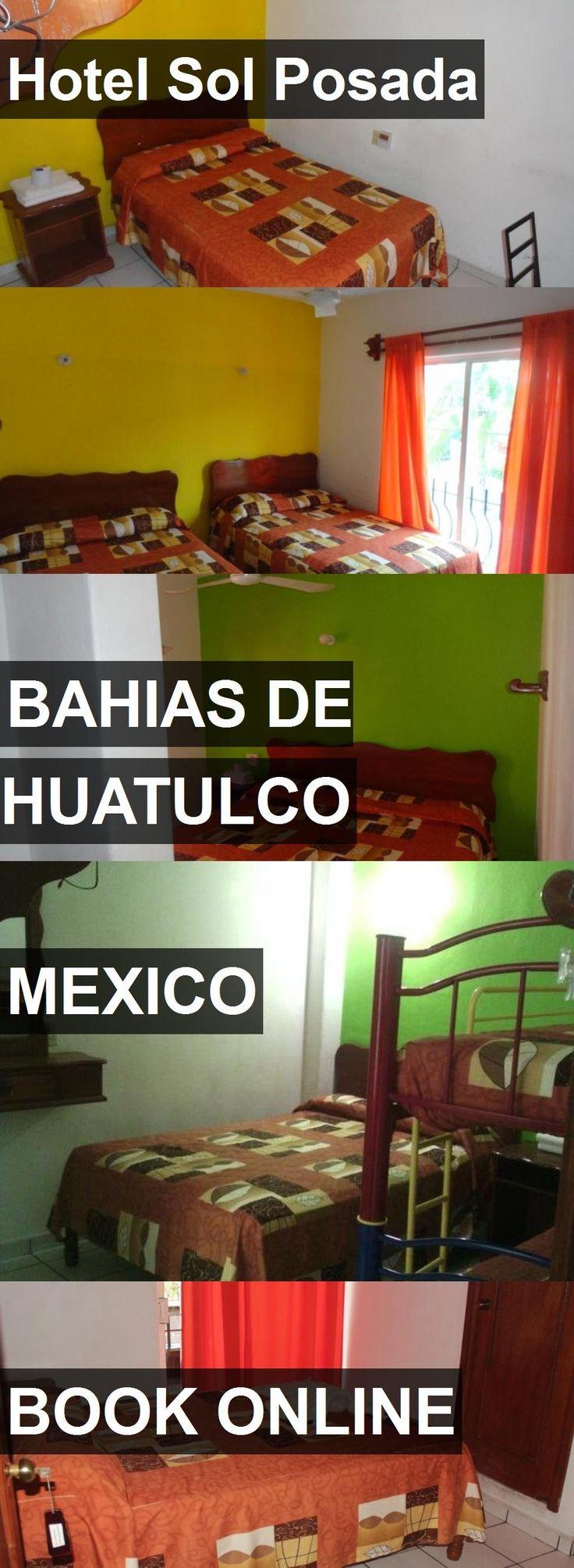 Hotel Hotel Sol Posada in Bahias de Huatulco, Mexico. For more information, photos, reviews and best prices please follow the link. #Mexico #BahiasdeHuatulco #HotelSolPosada #hotel #travel #vacation