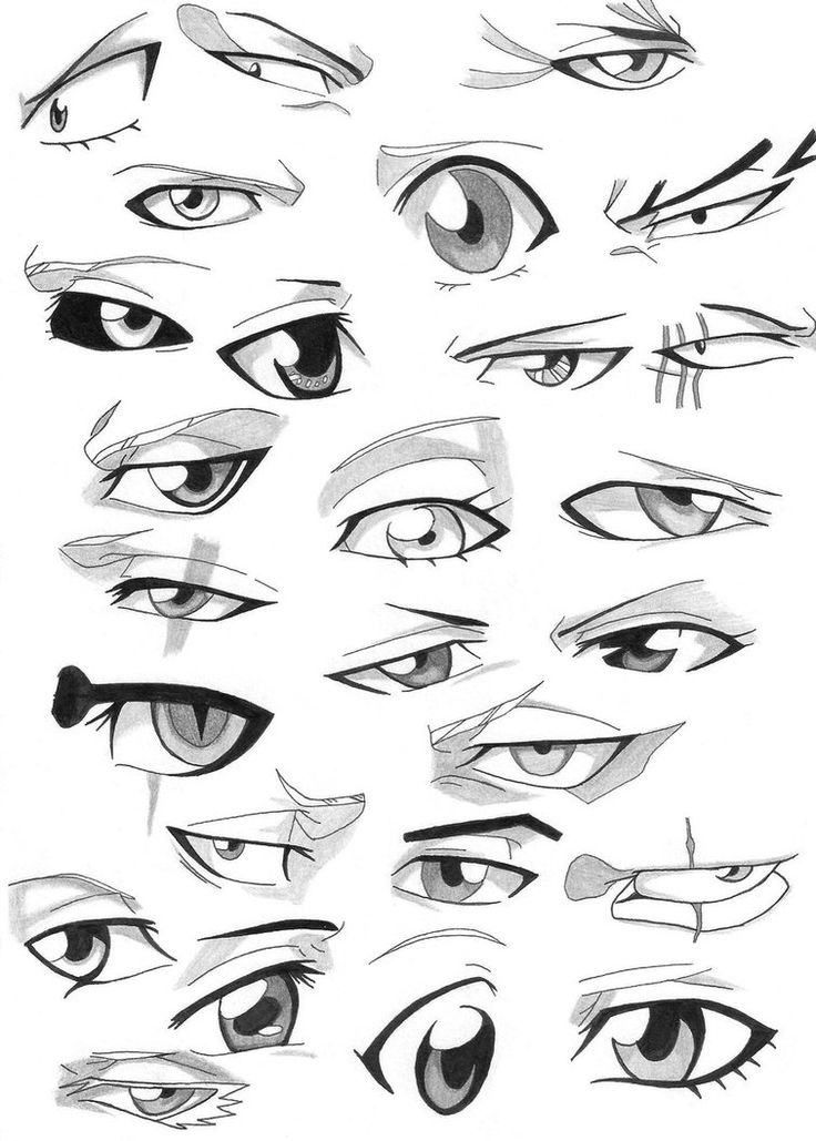 The different eyes in Bleach...whoa