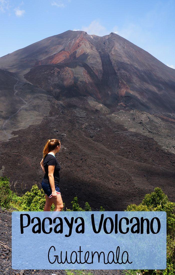 Hike Pacaya Volcano in Guatemala!