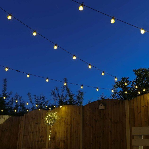 Outdoor Festoon Lights Connectable