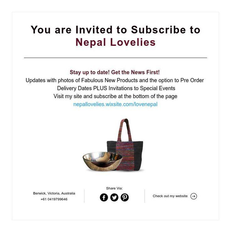 Invitation Nepal Lovelies