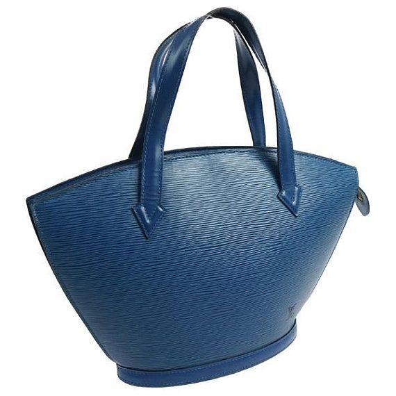 Authentic Louis Vuitton Saint Jacques Hand Bag Epi Epi Vintage