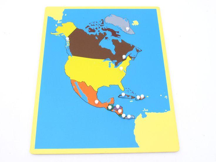Board Map of North America