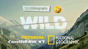 corel draw-3d bangroug - YouTube
