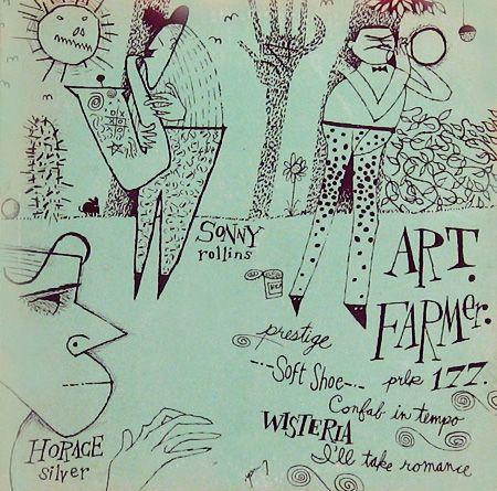ART FARMER: Music Album Art, Jazz Album, Art Hug, Records Covers, Jazz Covers, Sonny Rollins Album Covers, Art Farmers, Prestige Records, Covers Art