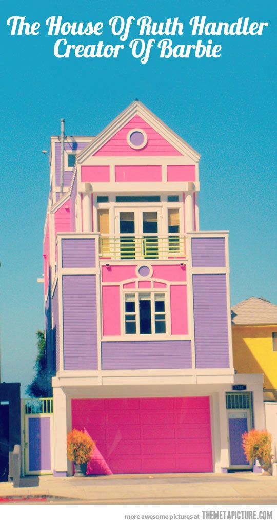 Real Barbie House Architecture Pinterest