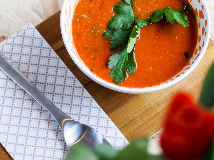 Lynrask tomat og linsesuppe (Fitfocuse)