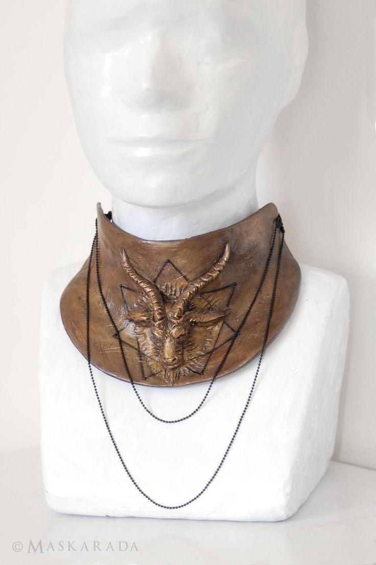 Alchemy neckcorset by Maskarada - Masks & More