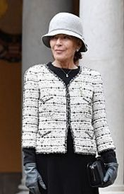 Baroness Elisabeth-Anne de Massy, November 19, 2016 | Royal Hats