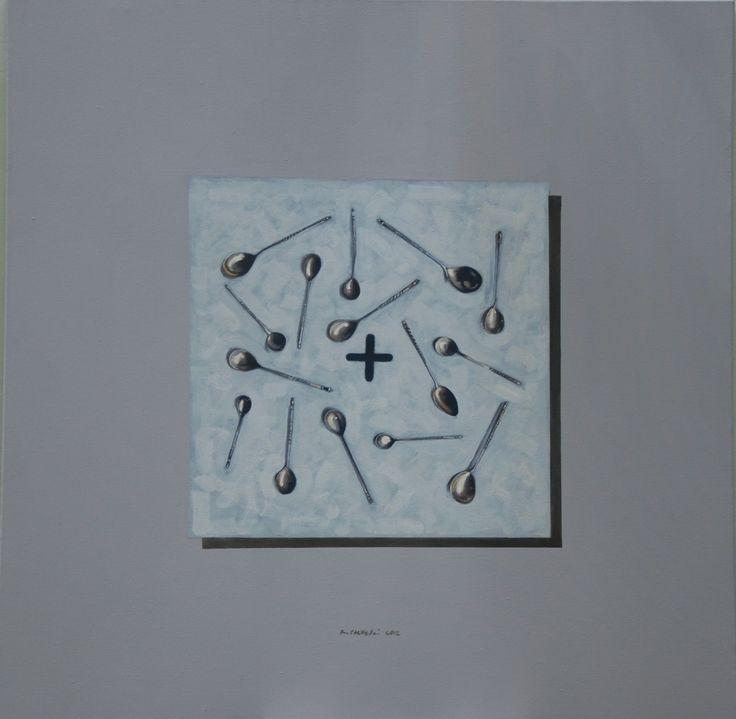 Ryszard Porębski, Łyżeczki, z cyklu 'Obrazki z Barcelony'