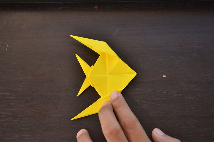 How to Make an Origami Fish -- via wikiHow.com
