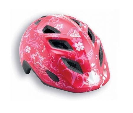 Met Elfo pink musik cykelhjelm str. 46-53 cm