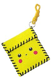 trading card pouch...this is pikachu but you can decorate it any way for a sport etc.