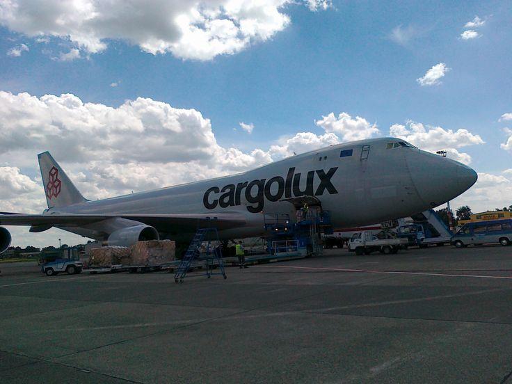 Cargolux Boeing B747 in Budapest