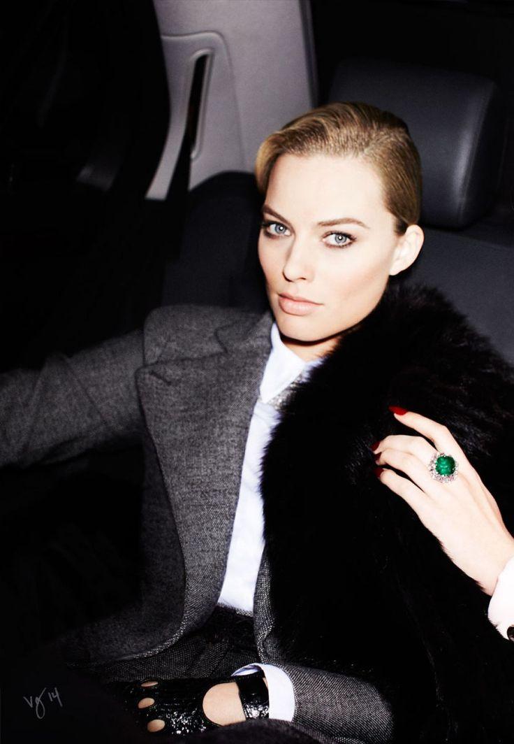 Margot Robbie in Violet Grey Magazine, February 2014.