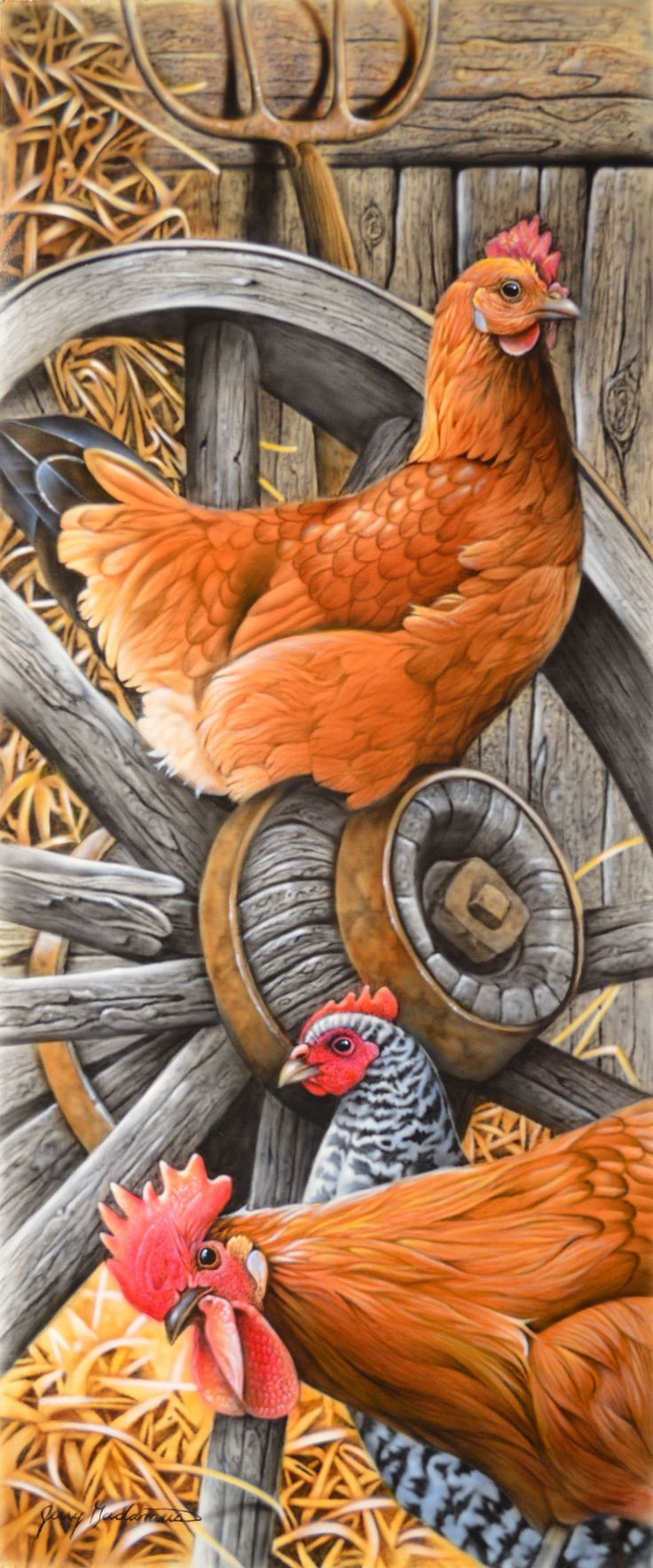 671 best painting chicken images on pinterest roosters chicken