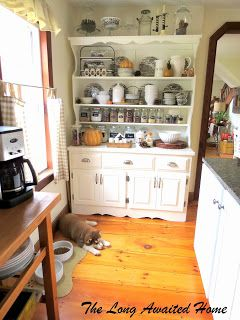 The Long Awaited Home Craigslist Kitchen Hutch