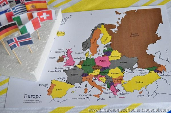 Europe Continent Study Part I