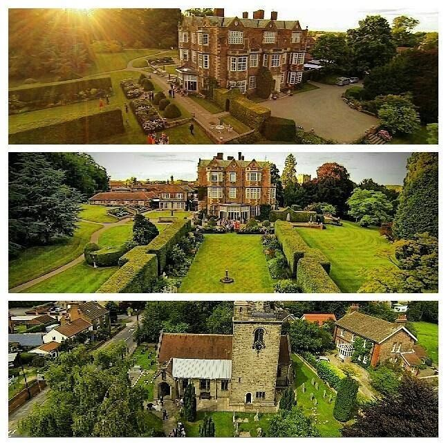 Drone Images From A Wedding At Goldsborough Hall By Matt Haworth