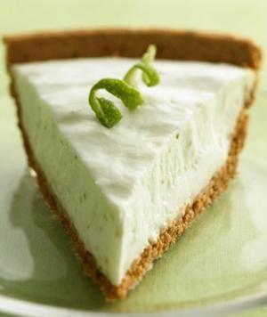 Key Lime Pie- the healthy way; made with yogurt