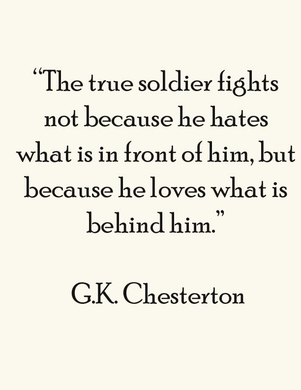 G.K. Chesterton - Differences in characters, or in the same character, but under the control of different emotions.