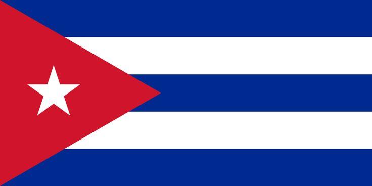 Flag of Cuba - Galeria de bandeiras nacionais – Wikipédia, a enciclopédia livre
