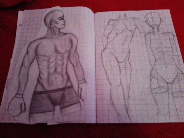 Another anatomy drawing , I think it looks okay..heh