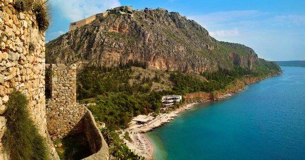 Nafplia Palace Hotel & Villas, Nafplion, Greece #luxurylink