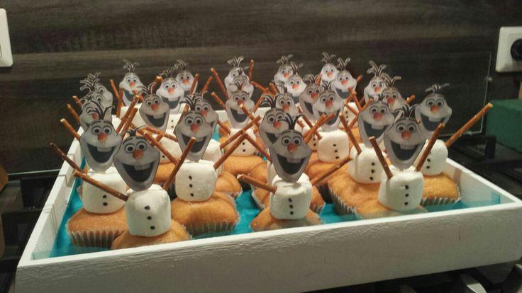Olaf de sneeuwpop