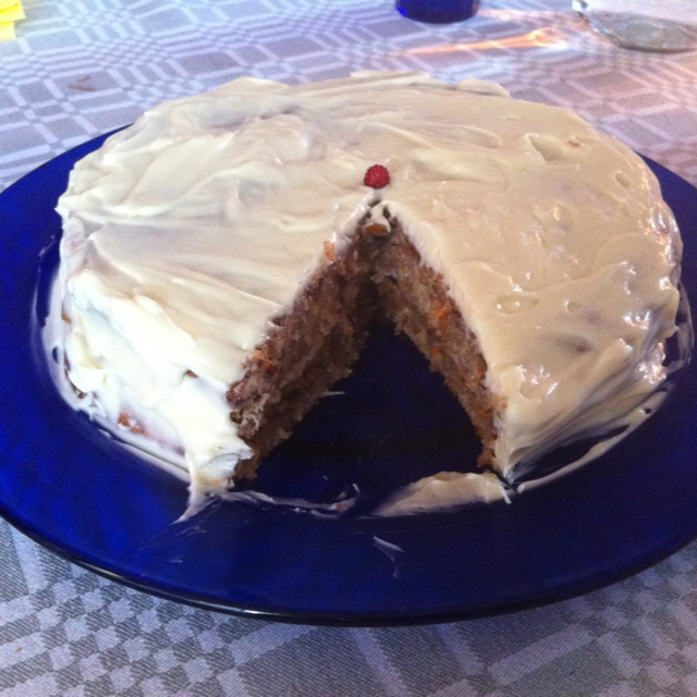 Carrot cake. Baked by me ;)  July 2012  Photo ©Blanca Oliver